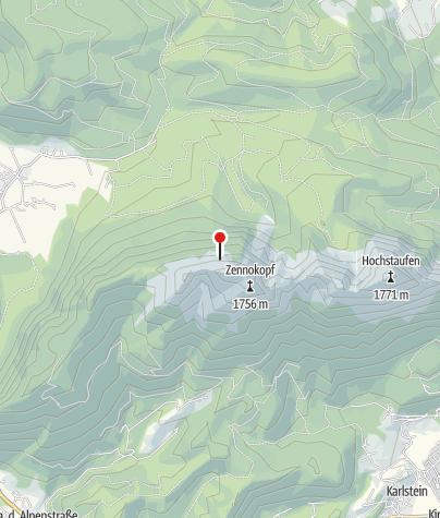 Karte / Zwieselsteig von Adlgaß / Inzell