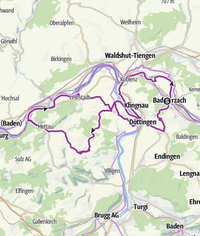 Map / Naturtour durchs Zurzibiet