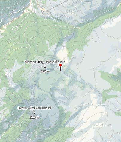 Map / Radreise Augsburg-Bozen sportiv