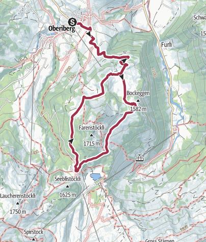 Karte / Rund um den Roggenstock