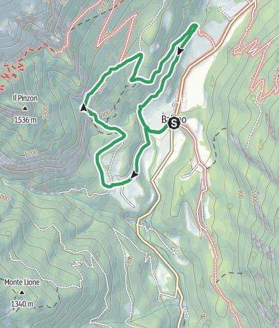 "Map / Via Ferrata ""Rio Ruzza"" - Ballino"