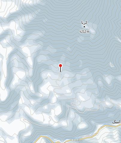 Karte / Goosfand Sara / Damavand Camp 2