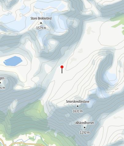 Karte / Patchelhytta - schöne Selbstversorgerhütte in den Sunmore Alps