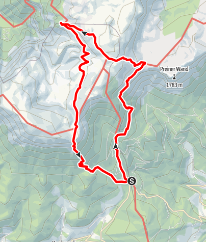 Karte / Alpines Raxkulinarium im Naturpark Mürzer Oberland