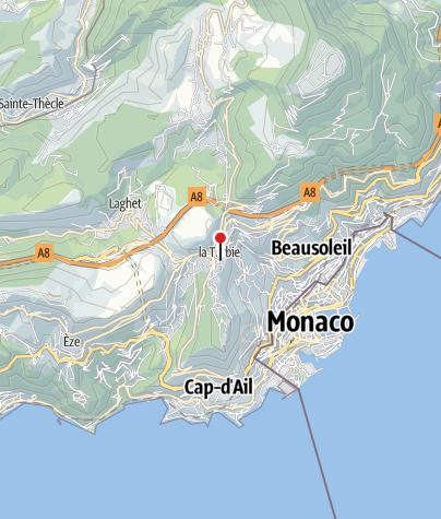 Map / Trophée D'Auguste