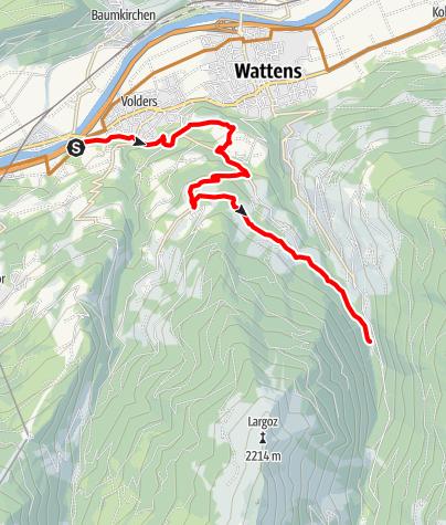 Map / Brantach - Wattenberg GH Säge