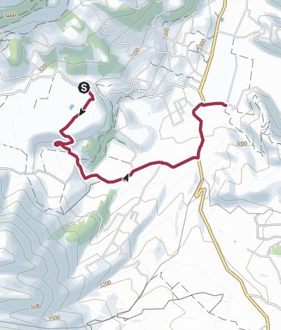 Map / Cochas to Hacienda Zuleta