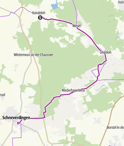 Karte Lüneburger Heide Und Umgebung.Zum Wilseder Berg In Der Lüneburger Heide Radtour Outdooractive Com