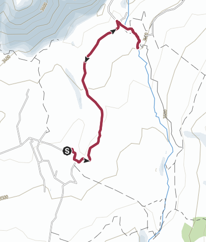 Map / Hike the Pita River