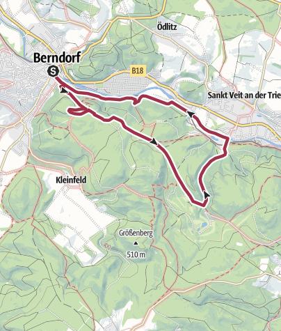 Karte / Guglzipf - St.Veit Runde