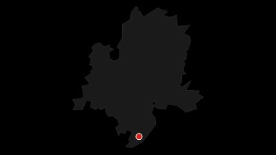 Karte / Zu Fuß über die Alpen – mein Weg von Oberstdorf nach Meran