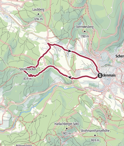 Karte / Sternknöckel