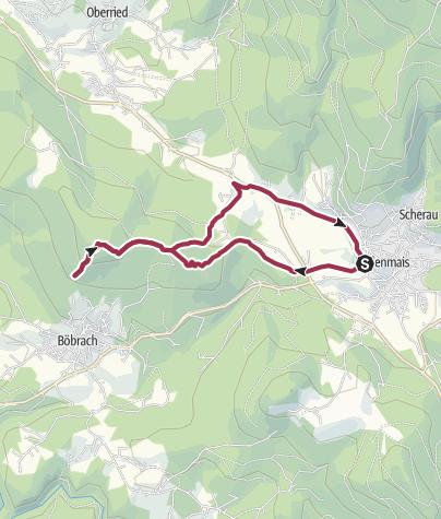 Karte / Wolfgangkapelle