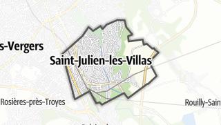 Mapa / Saint-Julien-les-Villas