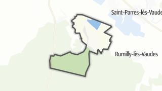Mapa / Montceaux-lès-Vaudes
