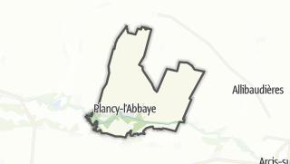 Mapa / Plancy-l'Abbaye