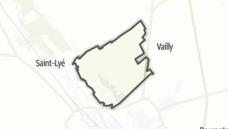 Mapa / Sainte-Maure