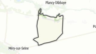 Mapa / Charny-le-Bachot