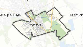 Mapa / Bréviandes
