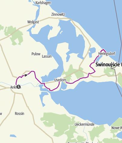 Insel Usedom Karte Ostsee.Von Neubrandenburg Zur Ostsee Etappe 3 Anklam Bansin Radtour
