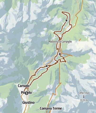 Cartina / Dolomitica RIDE 2018