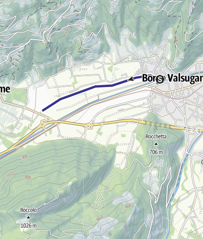 Map / Fiume Brenta B1