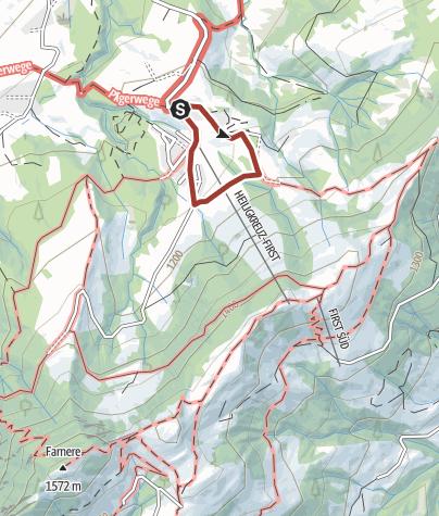 Karte / Märchenweg Wurzilla - Lerne das Tannenwurzelkind kennen