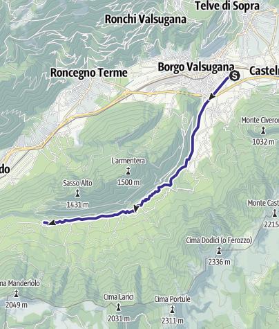 Map / Torrente Moggio E