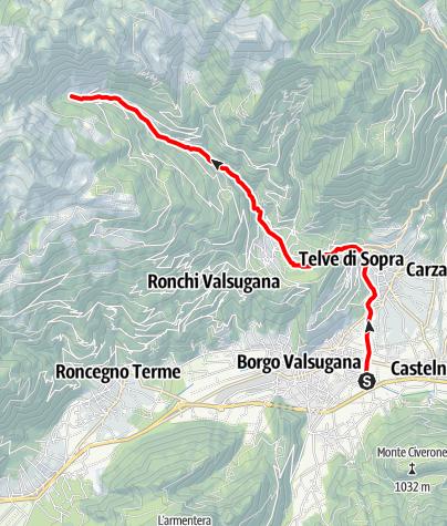 Map / Torrente Ceggio F