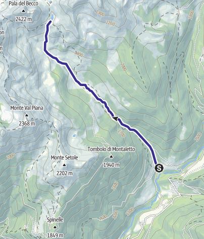 Karte / Rio Montalon H