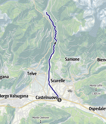 Cartina / Torrente Maso I