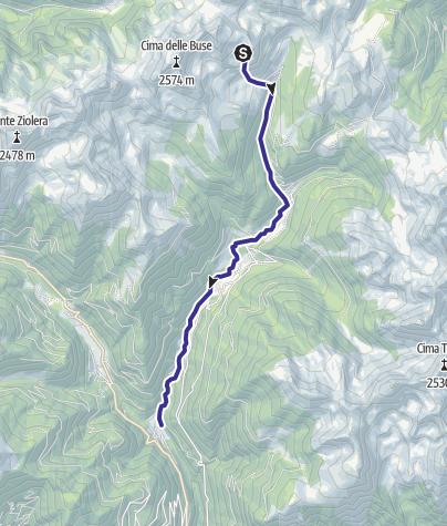 Cartina / Maso di Spinelle I1