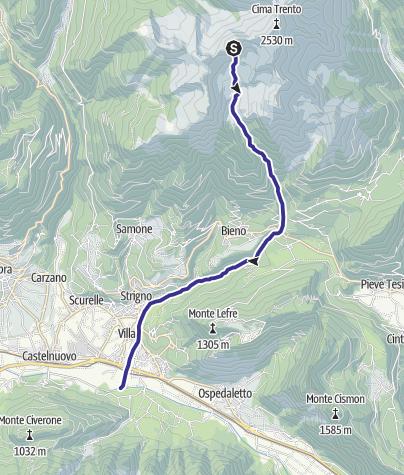 Karte / Torrente Chieppena M