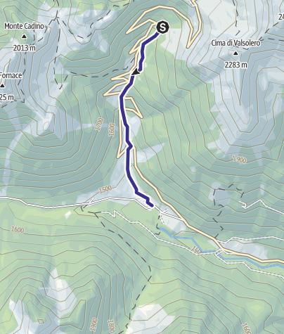 Mappa / Rio Manghen LM