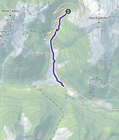 Karte / Rio Manghen LM