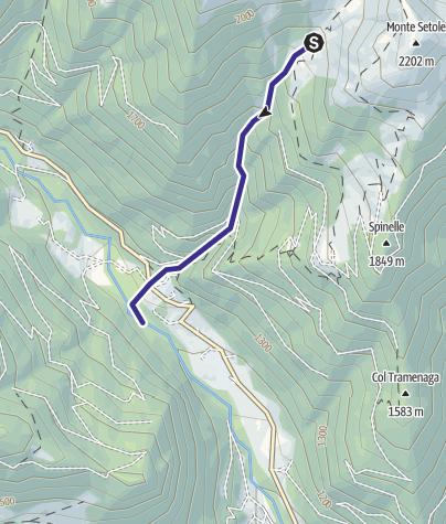 Karte / Rio Val Cantieri