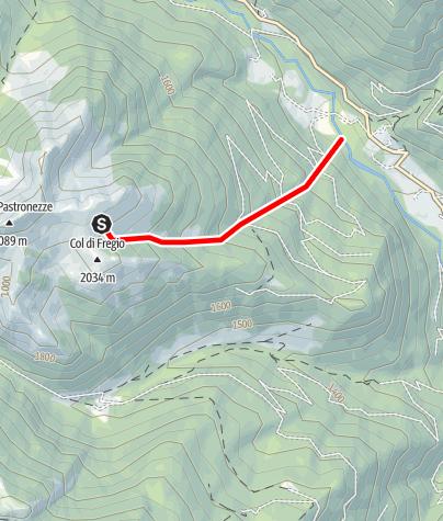 Map / Rio Freggio