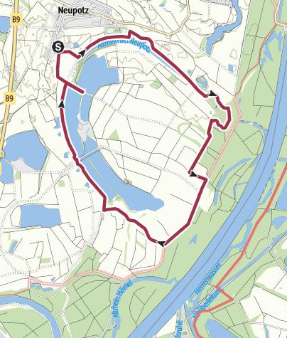 Karte / Neupotz - Fischerweg
