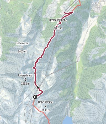 Karte / Alexander Enzinger Weg