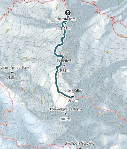 Karte / Sportler goes Ortler