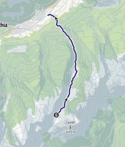 Map / Rivi di Sagole e Canzenagol