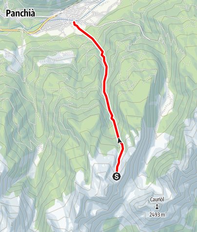 Map / Rio Castelir E3