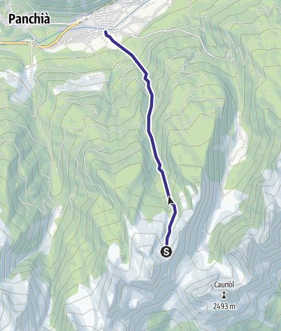 Karte / Rio Castelir E3
