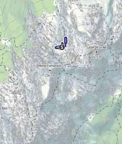 Karte / Laghi delle Aie C5