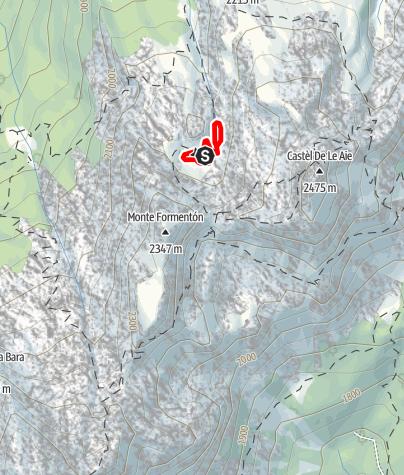 Map / Laghi delle Aie C5