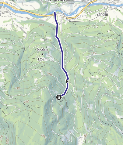 Map / Rio Cavelonte E5