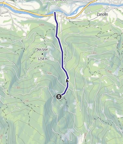 Karte / Rio Cavelonte E5