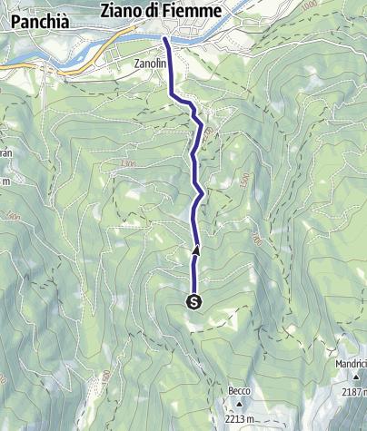 Karte / Rio Gazolin E4