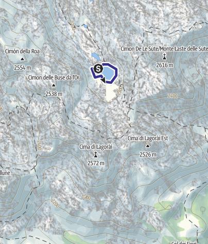 Mappa / Lago Sute C6