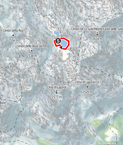 Map / Lago Sute C6